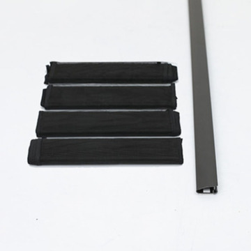 grey black white insect door curtain kit