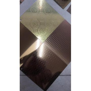 various Stainless Steel Embossed Sheets