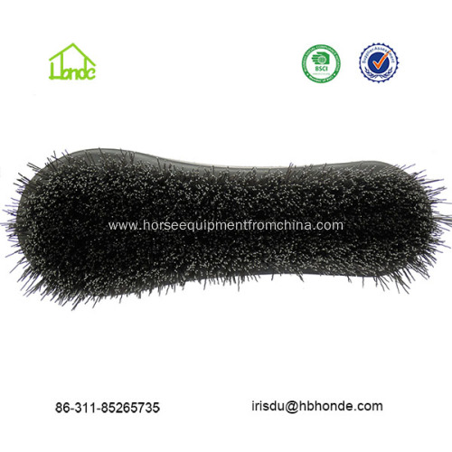 Horse Face Brush with Wooden Back