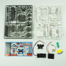 DIY Robot Kit- Available 7 In 1 Rechargeable DIY Educational Solar Robot Space Fleet