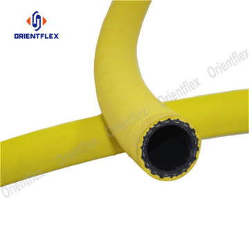 Yellow multi function wrapped hose air compressor