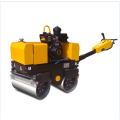 Mini concrete walk behind road roller compactor 800kg