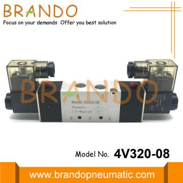 NPT 1/4'' 4V320-08 AirTAC Type Air Solenoid Valves