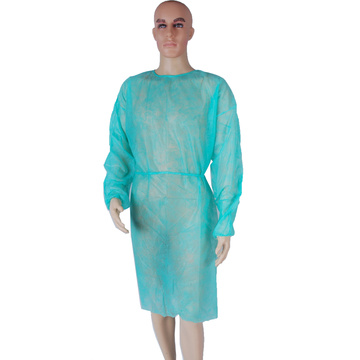 waterproof disposable pp level 2 medical isolation gown