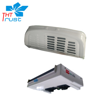 Front frozen electric truck cooling unit