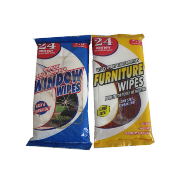 Furniture and Window Cleaning Product Wet Wipes