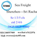 Shenzhen Port Sea Freight Shipping To Sri Racha