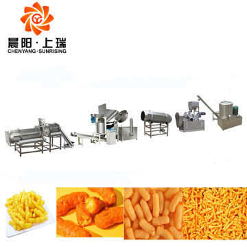 Kurkure cheetos machine kurkure corn curls machine