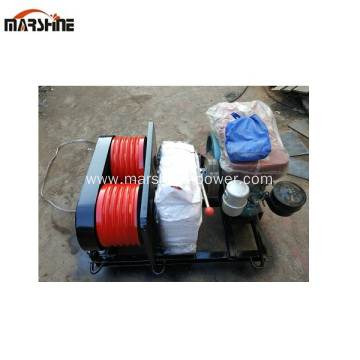 Gas Powered Engine Hydraulic Winch