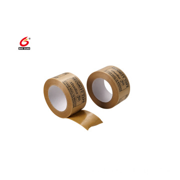 printing self adhesive kraft paper gummed tape