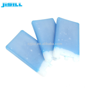 Non-toxic Gel Blue Ice Brick Cooler