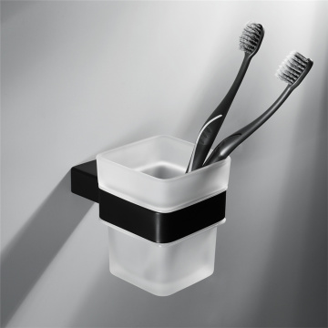 Bathroom Accessories Stainless Steel Black Toothbrush holder