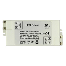 54W 12V 4500mA DC Output Transformer Driver Led