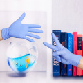 Anti static disposable medical gloves nitrile