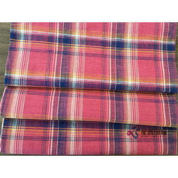 Bamboo Cotton Yarn Dyed Plaid Fabric