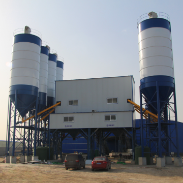 HZS90 ready mixed 90m3/h concrete batching plant sale