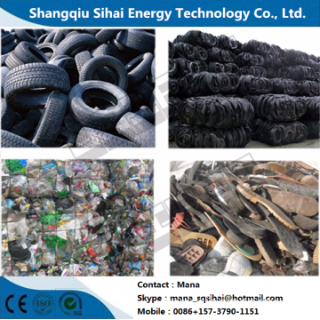 Environmental tires recycling plant