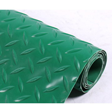 Anti skid water resistant 100% pvc doormat
