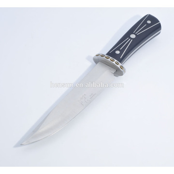 Outdoor Rescue Knife ABS Handle Camping Vertical Knife
