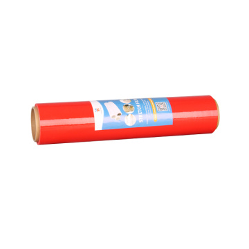 pe materials red stretch wrap