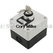 AC 660V 3 Position Key Lock Rotary Select Selector Switch Station Screw Terminal
