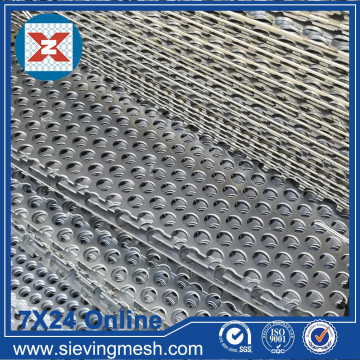 Round Holes Perforated Metal Mesh
