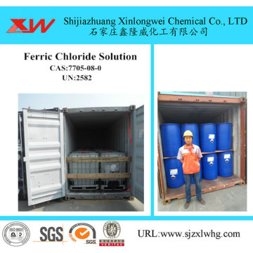 Industrial Use Ferric Chloride 40 concentration