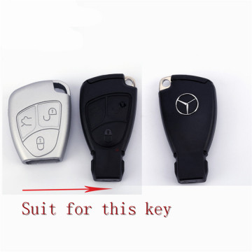 Silicone Mercedes Benz Parts Key Cover pour voiture