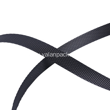 1/ 2 black poly plastic strapping for packaging
