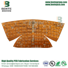 2Layers Flexible Board ENIG Unmanned Aerial Vehicles