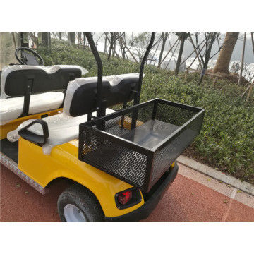 custom battery powered golf carts with cargo box