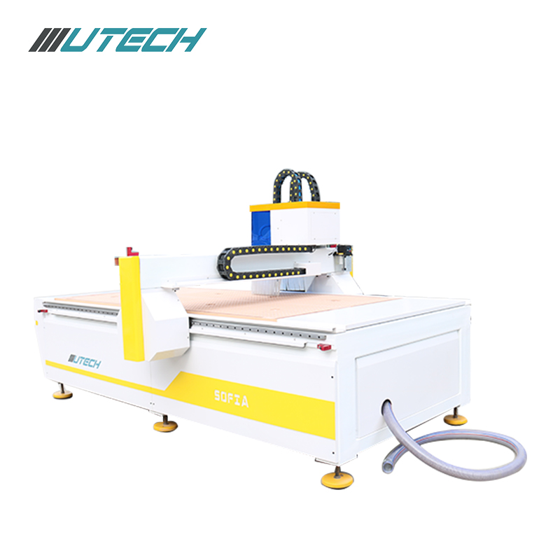 cnc router 1325 oscillating knife cutting machine