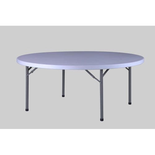 6FT Folding Round Table
