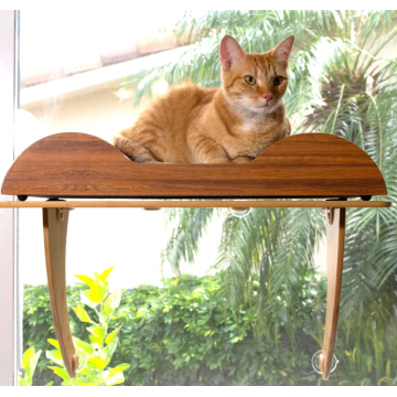 Eco Friendly Bamboo Cat Window Perch