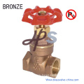 NSF Approved Lead Free Bronze Casting Gate Valve