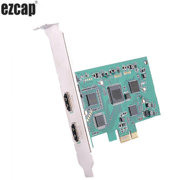 PCI Express PCIE Video Capture Card HDMI HD Video Capture 1080p 60pfs Record Game Conference Live Broadcast Streaming Webcasting