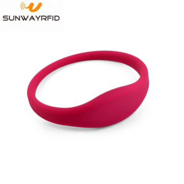 RFID Silicone Wristbands Closed-loop wristband