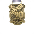 90 Gold football challenge medal