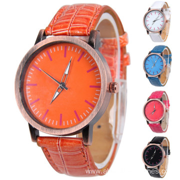 Popular Women Leather Wrist Quartz  Watches