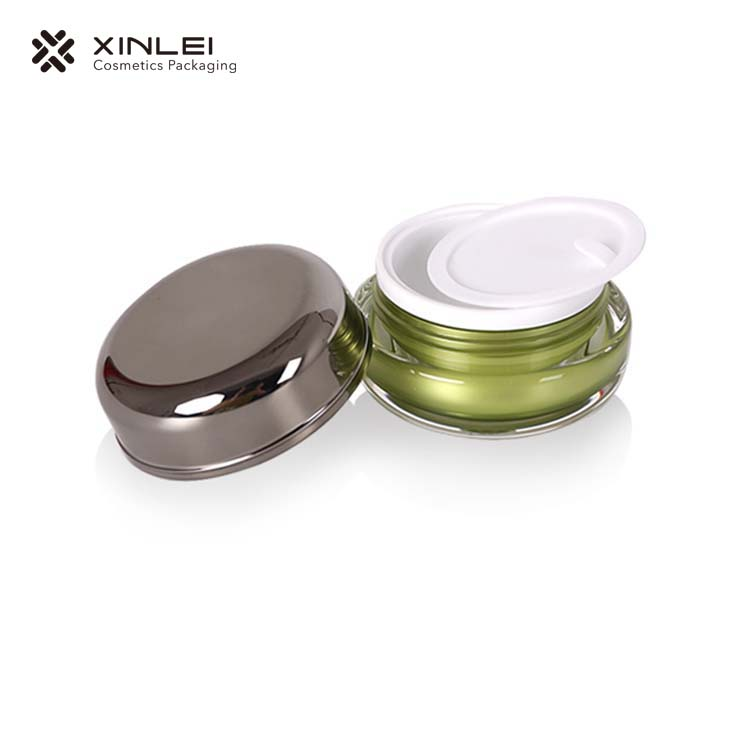 Round Shape cosmetic Acrylic Packaging