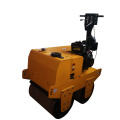 700kg walk behind manual mini road roller compactor