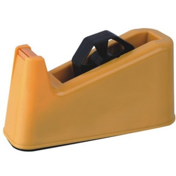 Yellow Plastic Tape Dispenser