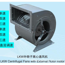LKW Centrifugal Fans with External Rotor motor