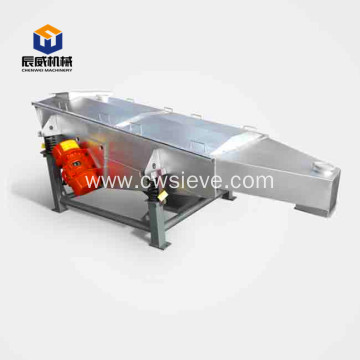 linear vibrating sieve for fodder powder