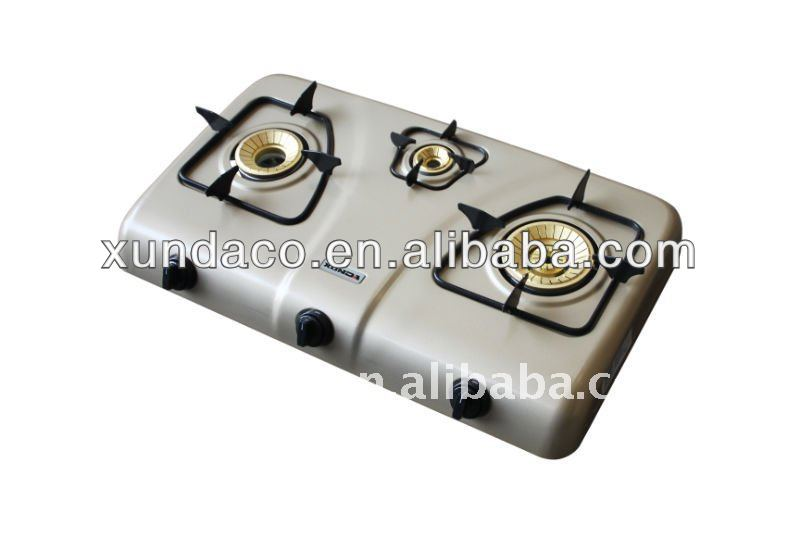 3 Burner Fully Stainless Steel Body Gas Cooker