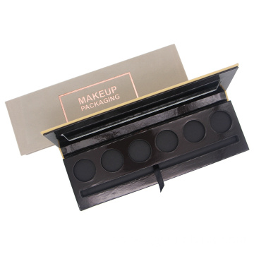 Empty magnetic makeup palette packaging for cosmetics