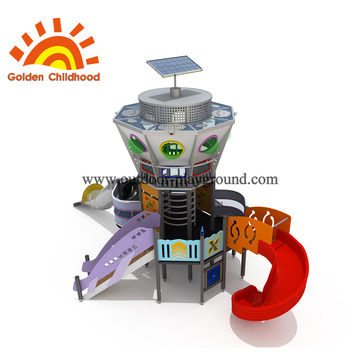 Universe Space Station Playground Equipment For Sale