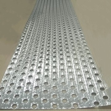 Heat Exchange Materials Aluminum Fin Stocks With Hole