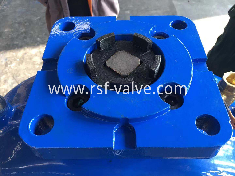 Gost Resilient Seat Gate Valve With Ea Adapter 2