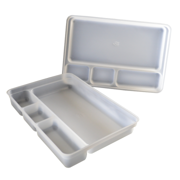 ISO13485 medical sterile four compartment pp blister tray